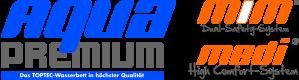 Atlantis Wasserbetten - AquaPremium Logo